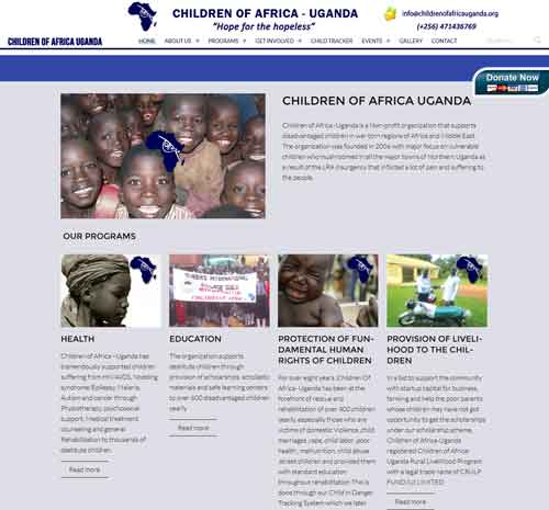 Children of Africa Uganda