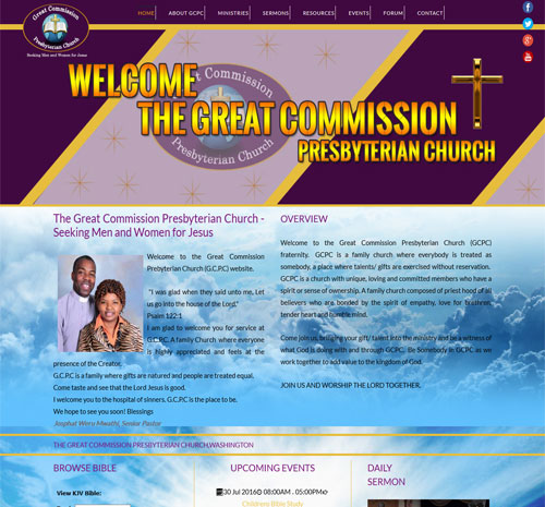 The Great Commission Presybeterian Church
