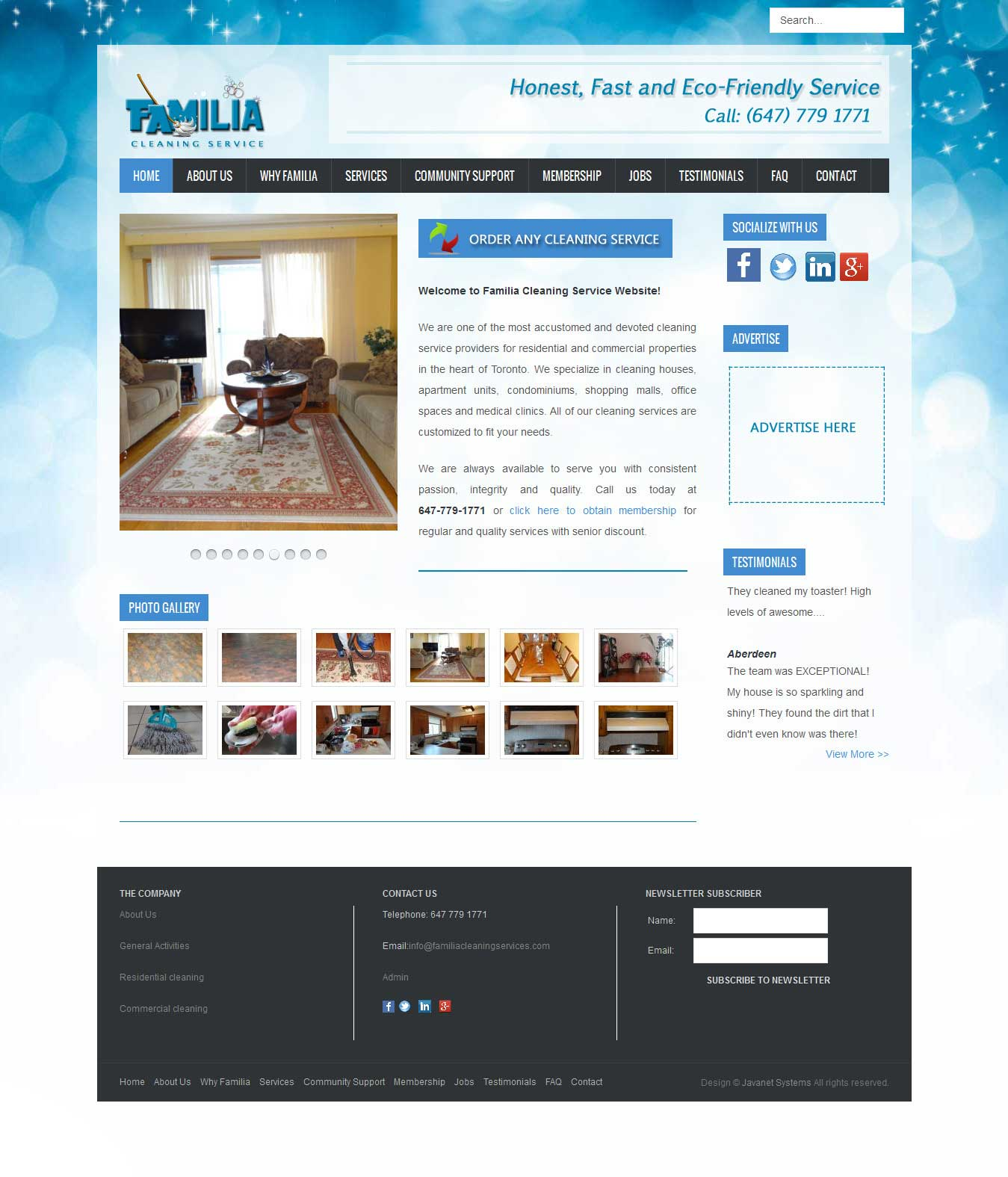 Familia Cleaning Services