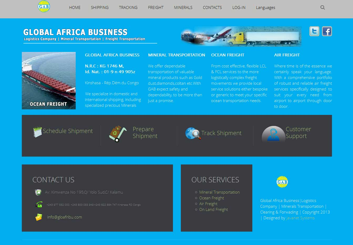Global Africa Business