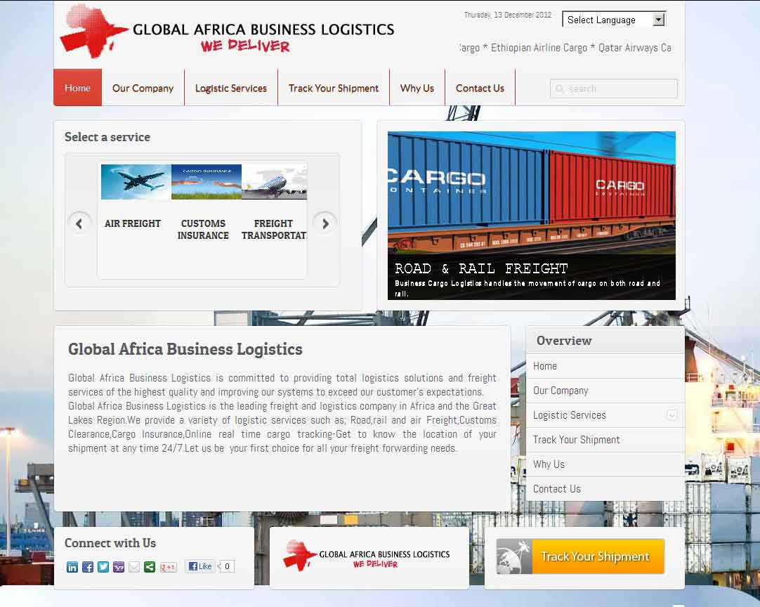 Global Africa Business Logistics