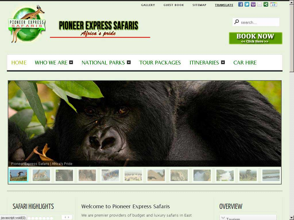 Pioneer Express Safaris