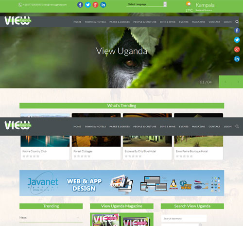 Uganda's Mobile Android App and Website Designing company
